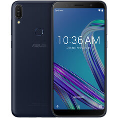 ASUS ZenFone Max Pro M1 ZB602KL Global Version 6,0 дюймов FHD + 5000 мАч 4 ГБ 64GB Snapdragon 636 Octa Core 4G Смартфон