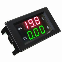 DANIU YB4835VA 0-100V 20A Double Display Volt Meterr Current Meter Digital LED