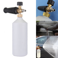 1L Snow Foam Lance Sprayer Washer Soap Bottle Pressure Wash Gun 1/4 Inch Connect