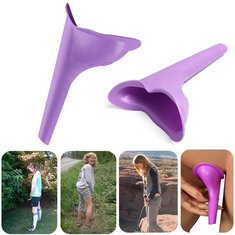 IPRee® Portable Outdoor Female Urinal Toilet Soft Silicone Travel Stand Up Pee Device Funnel
