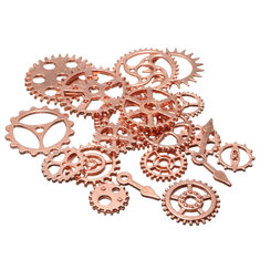 20pcs Vintage Steampunk Watch Clock Parts Gear Cogs Wheels Crafts Findings Lot