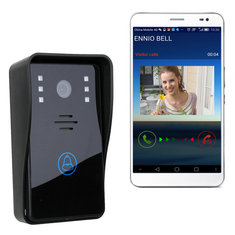 Wireless Wifi Remote Video Camera Phone Visual Intercom Doorbell Home Security