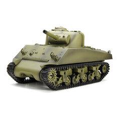 Heng Long 3898-1 2.4G 1/16 US Sherman M4A3 Tank Radio Control Battle Tank