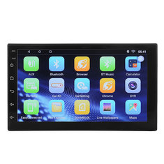 7 Inch2 DIN Bluetooth Car Stereo Radio MP5 Player GPS Wifi with Rear Camera