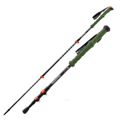 Naturehike NH80A089-Z Alpenstock Carbon Fiber Trekking Pole Folding Walking Climbing Sticks Pole