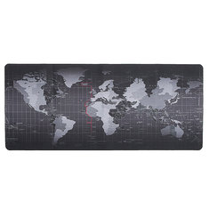 700x300x3mm Large Size World Map Mouse Pad For Laptop Computer