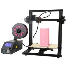 Купить Creality 3D® CR-10 Набор Мини DIY 3D-принтера Поддержка печати резюме 300 * 220 * 300 мм Большой размер печати 1,75 мм 0,4 мм сопло
