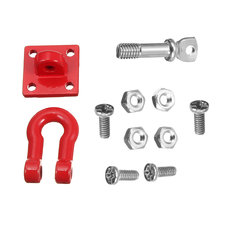 WPL 1Pc Metal Tow Trailer Hitch Hook For WPL B14 B16 B24 1/16 RC Car Parts