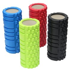 Yoga Foam EVA Roller Trigger Point Textured Pilates Physio Massage Hollow Column Roller