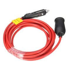 12V Car Cigarette Lighter Socket Extension Cord Power Cable Lead Charger Socket