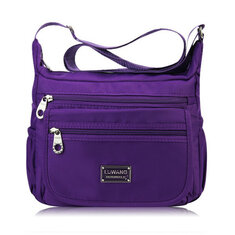 Women Nylon Light Crossbody Bags Casual Outdoor Shoulder Bags Waterproof Travel Bags