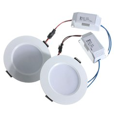 3W Round LED Recessed Ceiling Panel Down Light With Driver