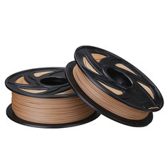 1.75mm 0.5kg/1kg Wood Color PLA Filament For 3D Printer RepRap