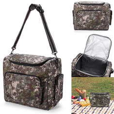 IPRee Outdoor Travel Bag Insulated Cooler Pack Picnic Food Lunch Storage Box Camping Hiking