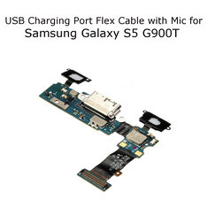 Charging Port Dock Micro USB Connector Flex With Mic For Samsung Galaxy S5 G900T