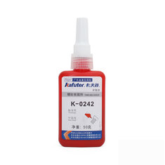 Kafuter K-0242 Moderate Intensity Screw Glue Anaerobic Adhesive For RC Model Helicopter 50g