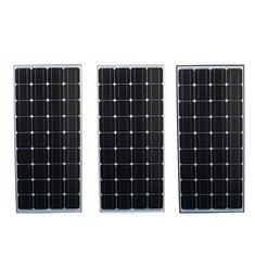 Elfeland® SP-100W12V 1200x540x30mm 100W Solar Panel For 12V Battery 5M Cable Motor Home Caravan Boat Camp Hiking