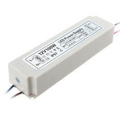 IP67 100W AC100-264V To DC12V Switching Power Supply Driver Adapter for LED