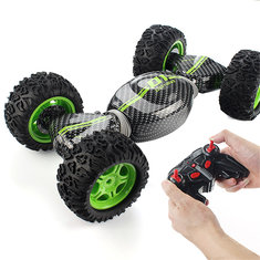 RC Car 4WD Truck Double-sided 2.4GHz One Key Transformation All-terrain Vehicle Climbing Toys