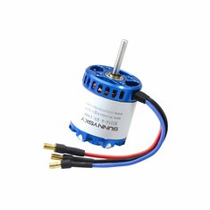 SunnySky X2216-III KV880 KV1100 KV1250 KV1400 3-4S Long Shaft Brushless Motor For RC Airplane