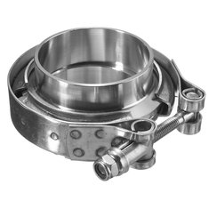 2inch Turbo Exhaust Down Pipe Stainless Steel 304 V-Band Clamp With 2Flange
