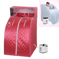 2L Portable Household Steam Sauna Tent Full Body Detox Massage Weight Loss Therapy