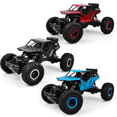 1PC LH-008S 1/16 2.4G 4WD 20km/h Alloy Shell Rc Car Rock Crawler Off-Road Climbing Truck RTR Toy