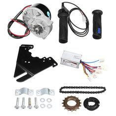 Купить 24V 250W Electric Bike Conversion Scooter Мотор Контроллер Набор Для 20-28-дюймового обычного велосипеда