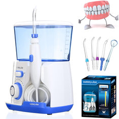 Waterpulse Health English Version of Superior Type Teeth Water Irrigation Jet Tooth Cleaner Dental Teeth Care Flosser