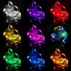 3M 30 LED Ribbon String Fairy Light Battery Powered Party Xmas Wedding Decoration Lamp