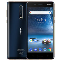 NOKIA 8 Global Version 5,3-дюймовый 6GB 128GB Snapdragon 835 Octa Core 4G Смартфон