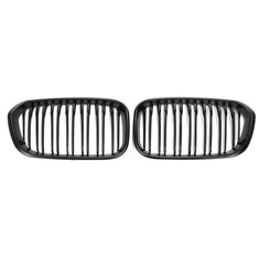 Matte Black Front Kidney Grill Grille For BMW F20 F21 1 Series 15-17