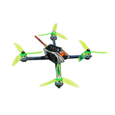 LDARC KK 220 Part 220mm Wheelbase 5mm Arm Carbon Fiber Frame Kit w/ 5040 Propeller for RC Drone