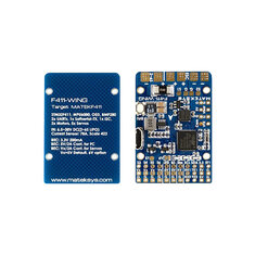 Matek Systems F411-WING (New) STM32F411 Flight Controller Built-in OSD for FPV Racine Drone