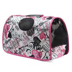 Expandable Pet Carrier Dog Cat Folding Travel Carry Bag Portable Airline Approved Pet Carrier