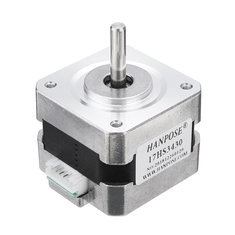 HANPOSE 17HS3430 34mm Nema 17 Stepper Motor 42 Motor 42BYGH 0.4A 28N.cm 4-lead For CNC 3D printer