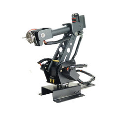 Upgraded DIY 6DOF Stainless Steel Robot Arm 6 Axis Rotating Mechanical Robot Arm Kit