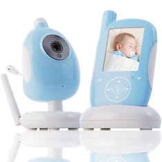 Vvcare A920 2.4 Inch 2.4G Wireless Baby Monitor Electronic Babysitter Nanny Security IP Camera Two-way Audio Night Vision Temperature Monitoring