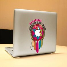 Indian Feathers Thin Vinyl Digital Sticker Skin Decals Cover Laptop Skin For Apple Macbook