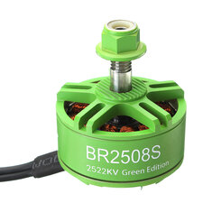 Racerstar 2508 BR2508S Green Edition 1275KV 1772KV 2522KV Brushless Motor For FPV Racing RC Drone