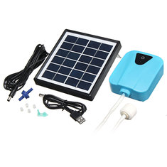Mini Outdoor 3.7V Water Pump Solar Powered Panel For Fish Tank Air Oxygenator Pond