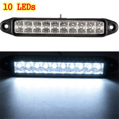LED Daytime Running DRL Side Marker Light Bar Lamp Car Truck Trailer Waterproof