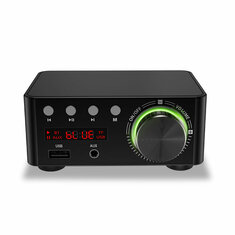 TPA3116 BT5.0 HIFI 100W USB TF RCA AUX USB Stick Amplifier