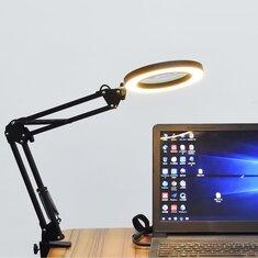 5X 37mm+37mm 3 Modes LED USB Desk Magnifier