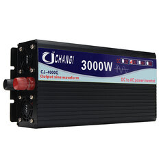 Intelligent Solar Pure Sine Inverter 12V/24V To 110V