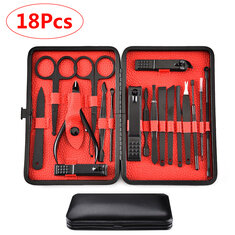 18 Pieces Of Stainless Steel Personal Manicure Set