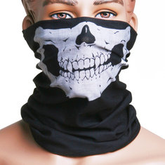 Skull Multi Purpose Head Wear Hat Scarf Motorcycle Face Cap Mask