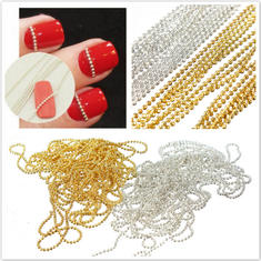 3M Steel Ball Beads Striping Tape Line Nail Art DIY Decoration