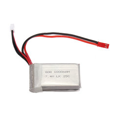 WLtoys V912 V915 Upgraded Li-po Battery 7.4V 2S 1000mAh 25C