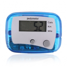Digital Step Pedometer Walking Distance Calorie Counter